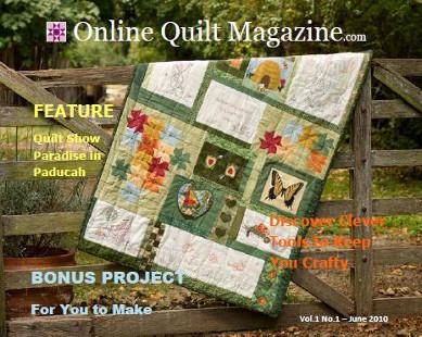 Online Quilt Magazine com